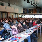 Der 5. Internationale Holz[Bau]Physik Kongress war mit knapp 300 Teilnehmenden gut besucht.